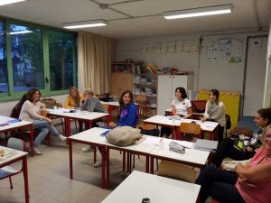 Session Introductiva para la Visita y la Immersion al Istituto Comprensivo Martin Luther King (Pistoia)