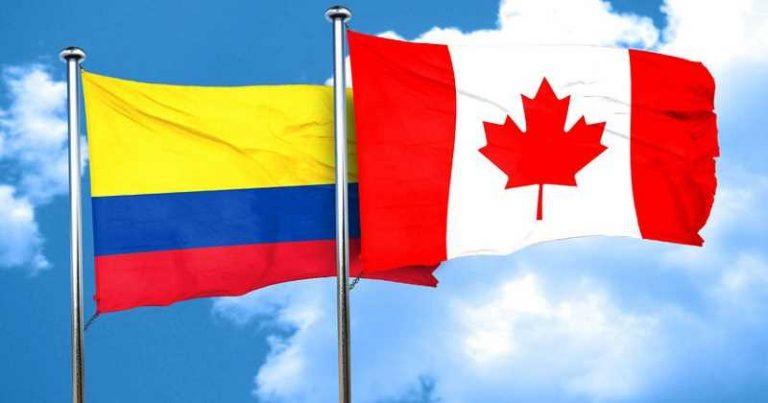 Banderas TLC Colombia Canadá